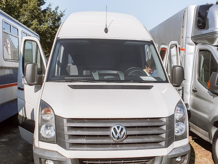 Ride-Life VW Crafter front Camper